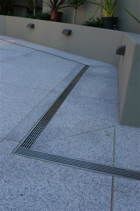 patio drainage products decks patios and balconies contemporary patio by infinity drain