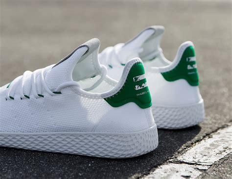 Adidas 40 Pharrell Williams pharrell williams x adidas tennis hu release date