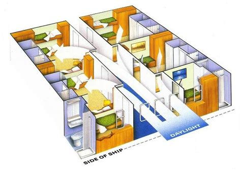 cruise ship cabin floor plans cruise ship cabin layouts p o canberra
