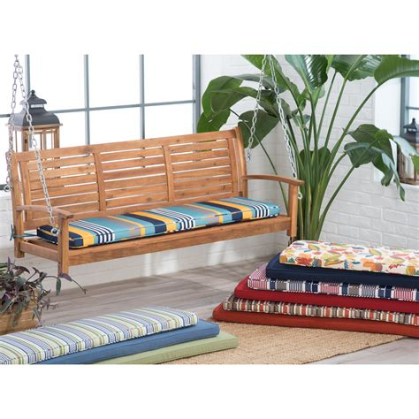 patio bench cushions patio patio swing cushion home interior design