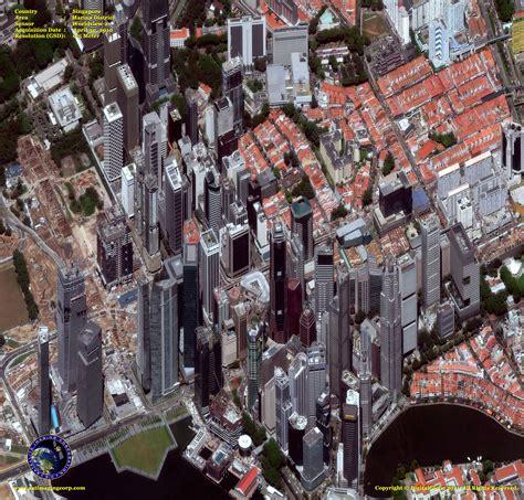 singapore map satellite view worldview 2 satellite image singapore satellite imaging corp