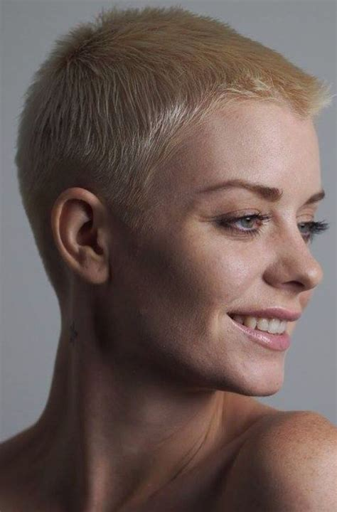 ultra short haircuts for women 17 best ideas about buzzed hair women on pinterest buzz