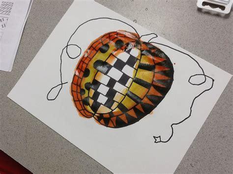 pattern art grade 2 4th grade pattern pumpkins grande park art
