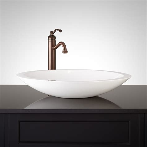 resin sinks bathrooms abriana oval gloss resin vessel sink vessel sinks