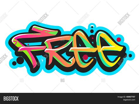 graffiti vector design elements 25x eps graffiti vector art urban design vector photo bigstock