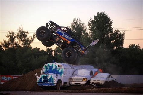 monster truck show springfield mo big night for over bored in springfield over bored