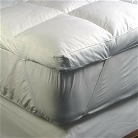 the soft bedding company feather mattress topper