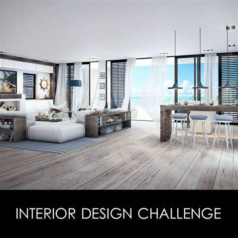 Home Design Challenge | interior design challenge vray rendering workshop