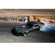 Drifting Ford Mustang RTR X Muscle Cars Smoke Sports Car