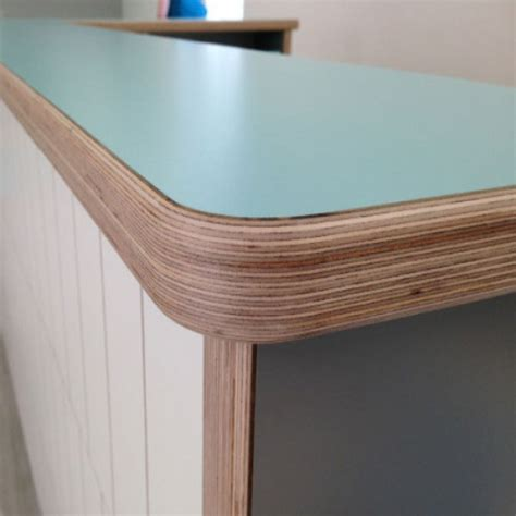 Light Blue Kitchen Cabinets Morland Lightweight Furniture Ply Panels Morland Fit Out
