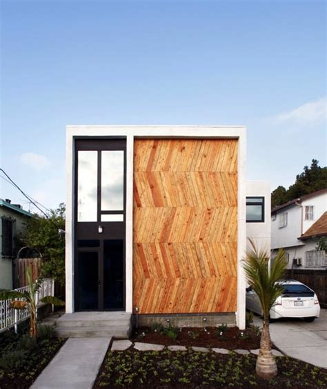 Wood Cladding House Modern Facade Cladding For An Impressive House Character