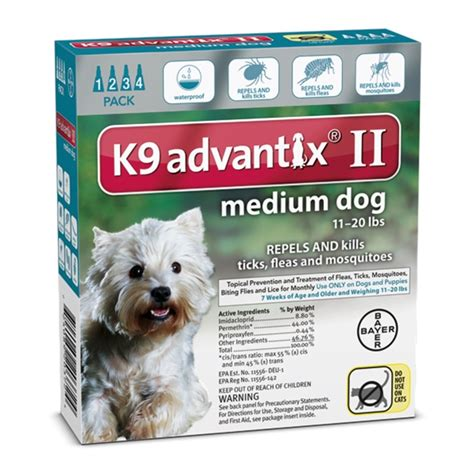 flea treatment for dogs southernstates bayer k9 advantix ii flea treatment for medium dogs 4 pk