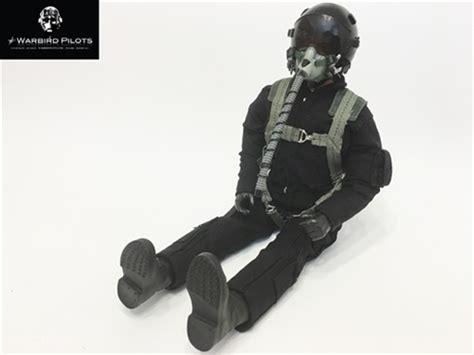 Figure Pilot 1 5 1 6 modern jet rc pilot figure black