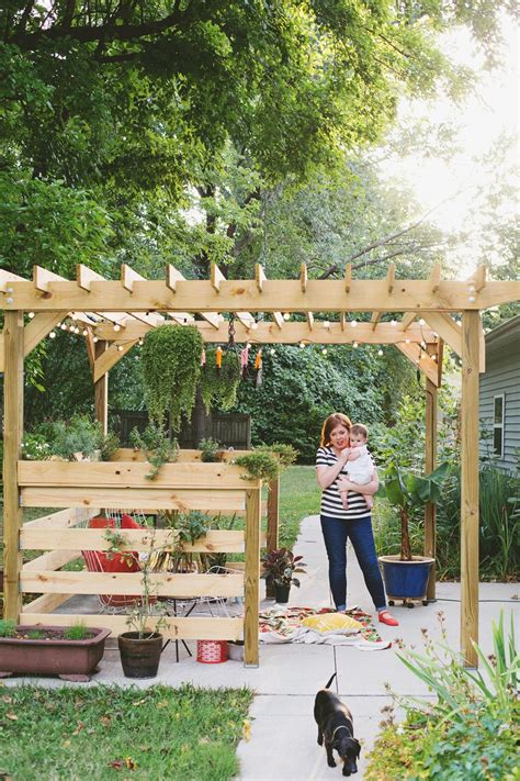 build your own pergola part three plants and styling