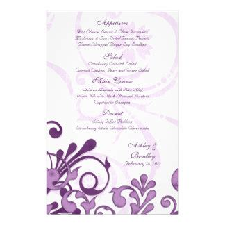design a retirement flyer purple and white floral wedding menu card personalized flyer