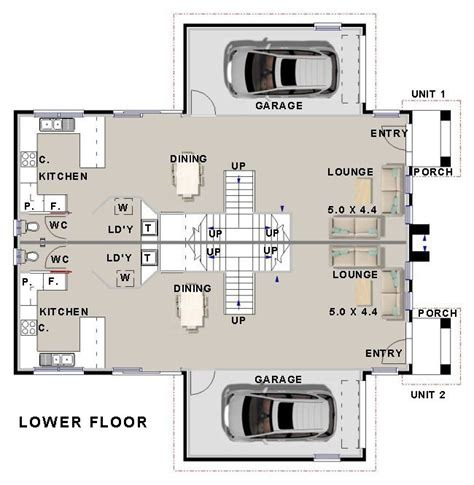 townhouse floor plans australia australian duplex townhouse house plans split level for