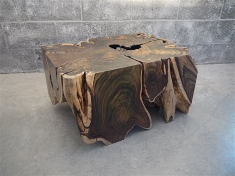 Live Edge Wood Coffee Table Sono Wood Root Coffee Table Live Edge By Boisdesign On Etsy