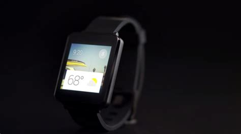 layout android wear lg introduces g watch smartwatch powered by android wear