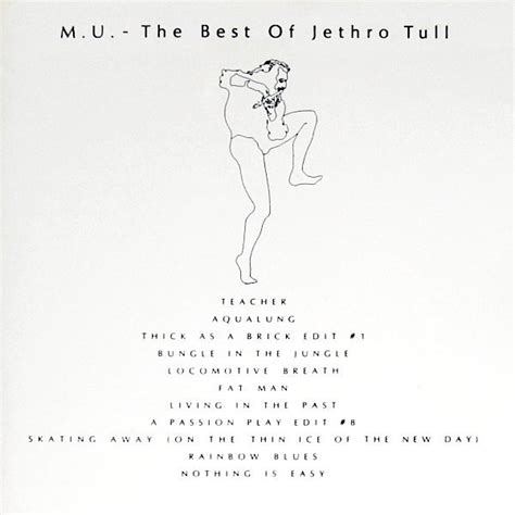 jethro tull the best of jethro tull m u the best of jethro tull cd at discogs