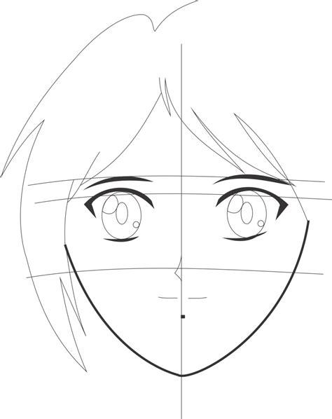 membuat pola alis membuat wajah gambar animasi dari berbagai sudut