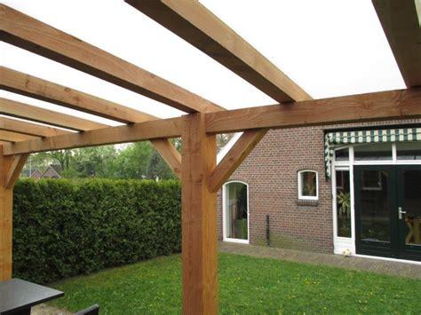 veranda zelfbouw houten veranda met glazen dak glasdiscount