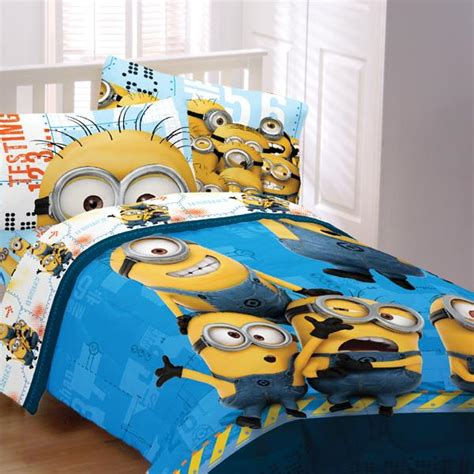 minion crib bedding minions testing 1234 bedding for kids