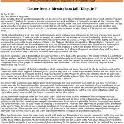 letter from birmingham thesis statement persuasive expository pearltrees