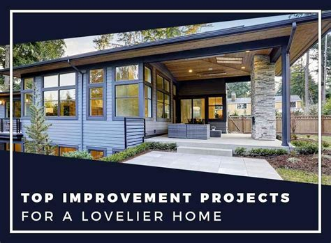 Top Improvement Projects For A Lovelier Home Mid America House Lovelier