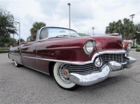 1954 Cadillac 4 Door by 1954 Cadillac Eldorado 2 Door Convertible