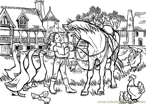 pony ride coloring pages horse riding coloring page 01 coloring page free others