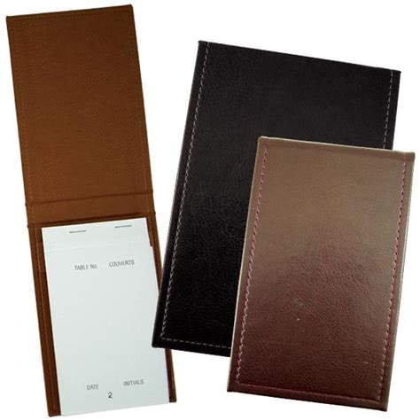 pad holder faux leather pad holder waitress notepad