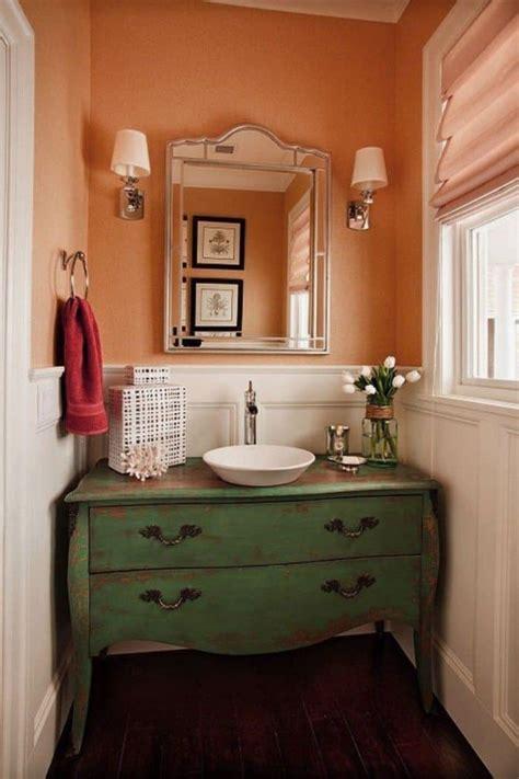 ways  paint  small powder room wearefound home design