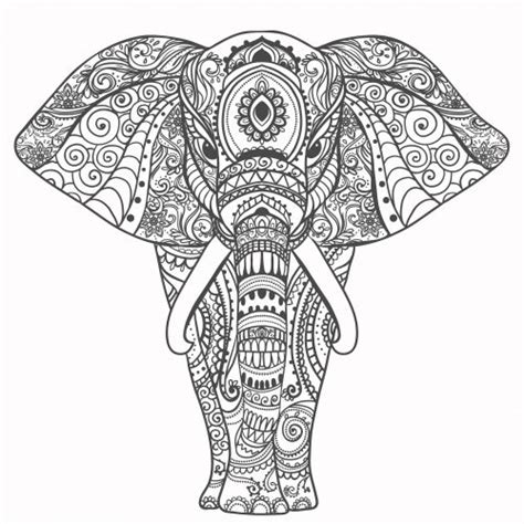 Nursery Wall Decals Elephant by Best 25 Mandala Elephant Ideas On Pinterest Mandala