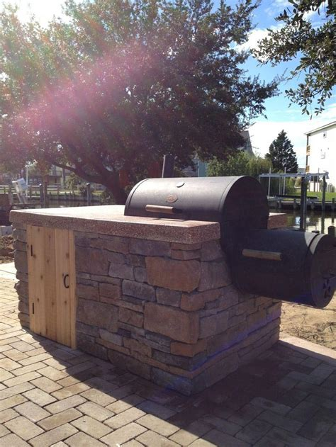 plans for a pit how to build a brick bbq smoker pit design ideas