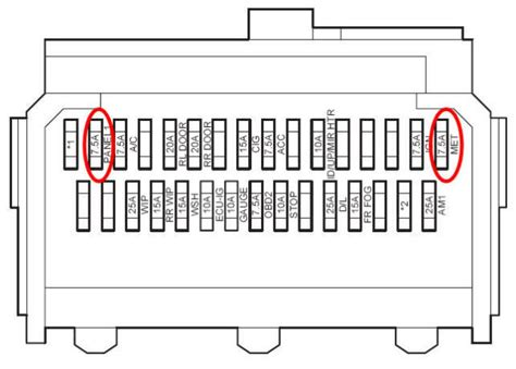 yaris mk1 fuse box diagram wiring diagram