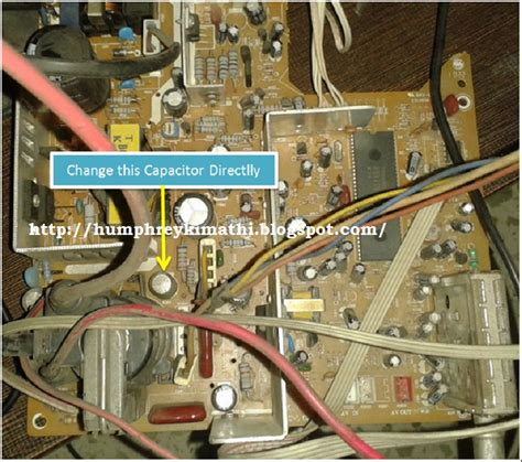 stereo capacitor troubleshooting electronics repair made easy need help in troubleshooting crt television problem