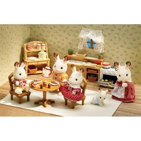 Calico Critters Kitchen by Calico Critters Deluxe Kitchen Set Educational Toys Planet