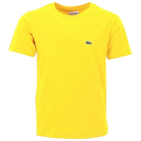 Tshirt Yellow lacoste yellow t shirt baby boy from designer