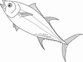 tuna fish coloring pages
