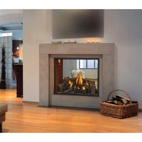 Two Sided by Exciting Two Sided Electric Fireplace Insert 83 In Small