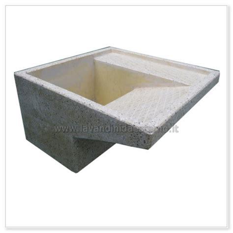 lavandini da terrazzo lavatoio da esterno 48 in graniglia levigata lavandini