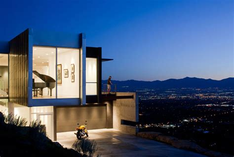 modern architect admirable modern architecture in salt lake city h house