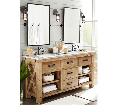 potterybarn bathroom pottery barn mirrors bathroom kensington pivot mirror