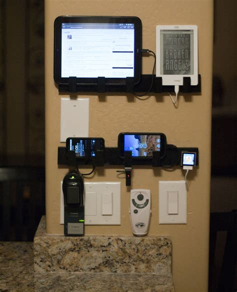 wall mounted cell phone charging station 1000 images about charging station on pinterest