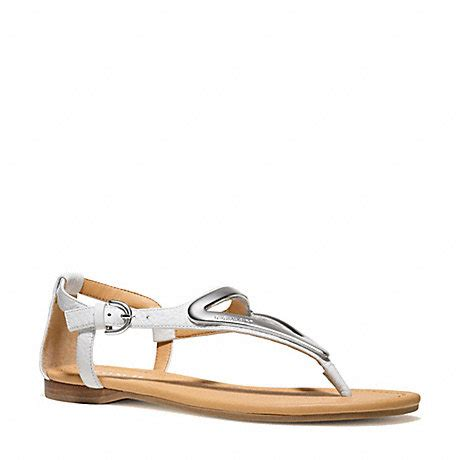 S Feragamo 6080 chailey sandal q6080 chalk coach new arrivals