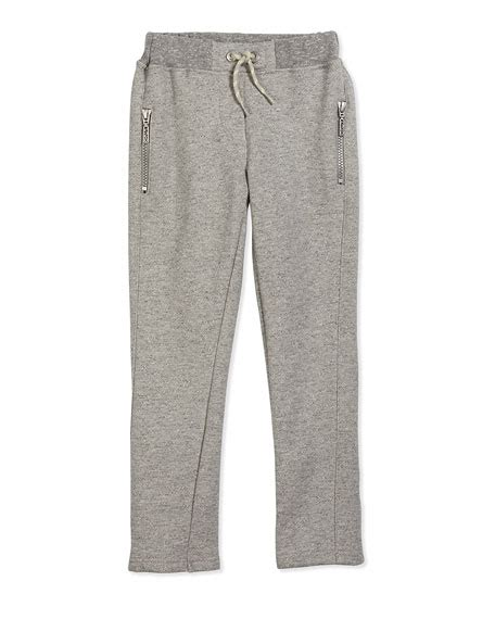 Fleece Lined Drawstring kenzo fleece lined drawstring sweatpants gray size 2y 5y