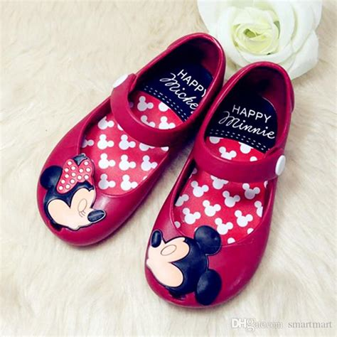 Sandal Mini Mouse baby sandals mickey minnie toddler baby
