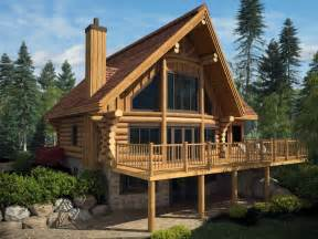 Log House by Log Homes And Timber Frame Portfolio Harkins Ca