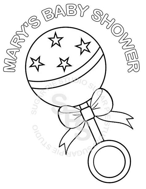 coloring pages for baby shower baby shower coloring page coloring home