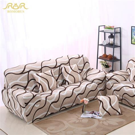 wrap around couch covers romorus stripe tight all inclusive sofa couch covers